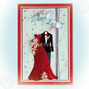 Image de Dress & Suit with small foam flowers