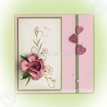 Bild von Multi Die Rose 016 & Stamp Swirl