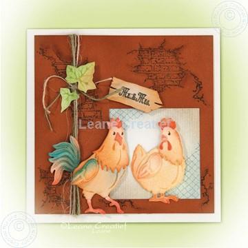 Afbeeldingen van Rooster & Hen
