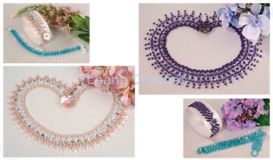 Image sur Net Weave avec des Perles