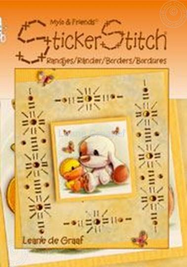 Image sur Mylo & Friends® StickerStitch® Bordures