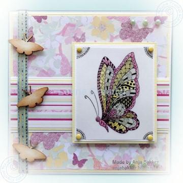 Bild von Doodle Butterfly