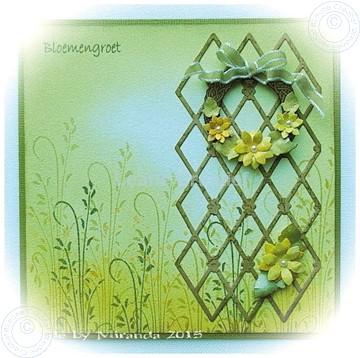Bild von Wreath with flowers