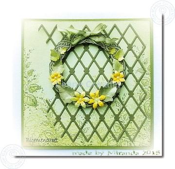 Bild von Wreath with flowers large