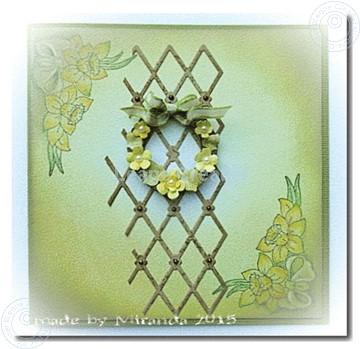 Bild von Small wreath with flowers
