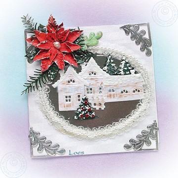 Bild von Winter white village
