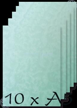 Afbeeldingen van Papier A5 Peacock blue 200 gr