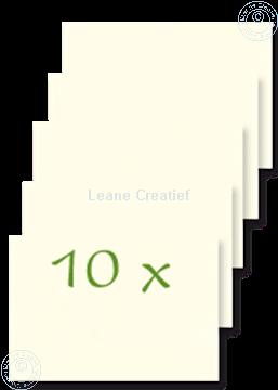 Bild von Briefumschläge 12x17,5cm ekrü