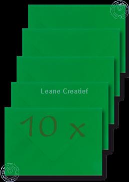 Bild von Briefumschläge 12x17,5cm grün