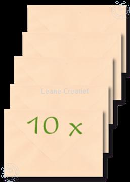 Bild von Briefumschläge 12x17,5cm pfirsich