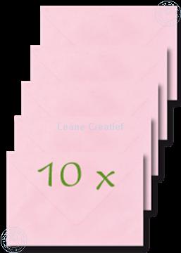 Bild von Briefumschläge 12x17,5cm rosa