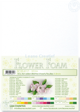 Picture of Flower foam A4 sheet white
