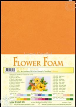 Picture of Flower foam A4 sheet orange