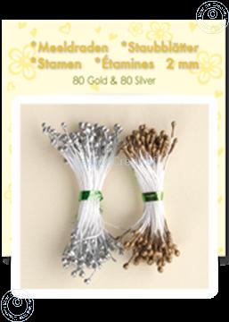 Afbeeldingen van Meeldraden ±80 gold 80 silver