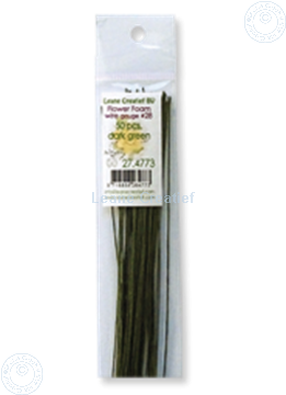 Picture of paper wrapped wire #28 dark green
