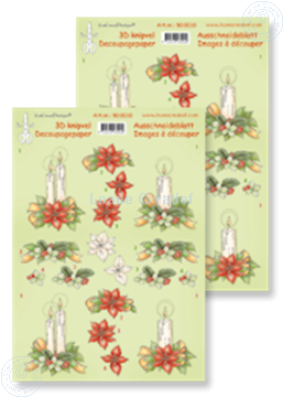 Afbeeldingen van Knipvel Christmas arrangement