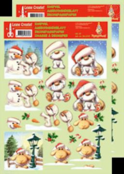 Afbeeldingen van Knipvel Mylo & Friends® Kerst #13