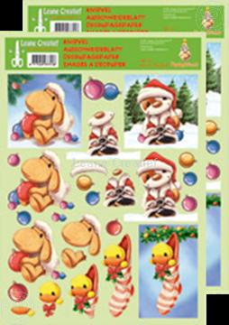 Afbeeldingen van Knipvel Mylo & Friends® Kerst #19