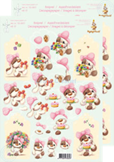 Picture of Decoupagepaper Mylo & Friends® #37