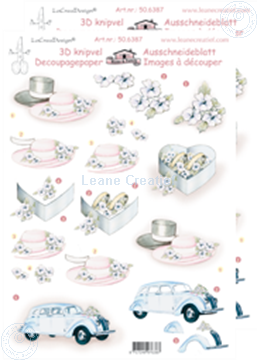 Picture of LeCreaDesign® decoupage papers wedding