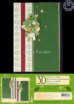 Image de Kit des cartes de Noël 3D vert