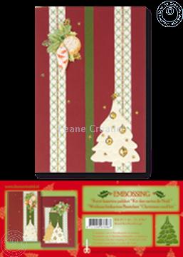 Image de Kit des cartes de Noël embossing rouge