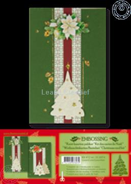 Image de Kit des cartes de Noël embossing vert