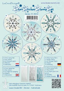 Image de Star sticker stamp set