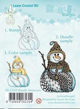 Picture of Doodle Snowman