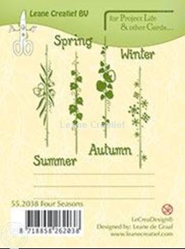 Afbeeldingen van Seasons English text