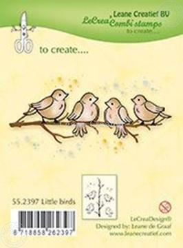 Afbeeldingen van Combistamp Little birds