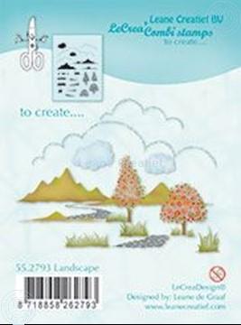 Bild von Combi stamp Landscape