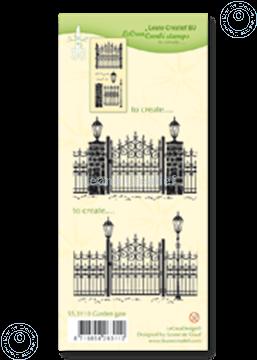 Bild von Combi stamp Garden gate