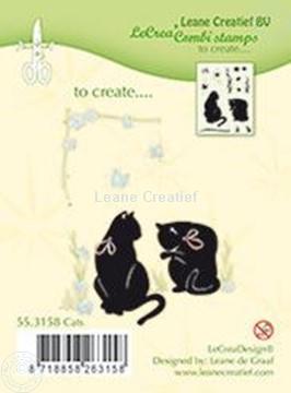Afbeeldingen van Combi stamp Cats