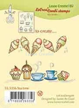 Image de Combi stamp Tea time
