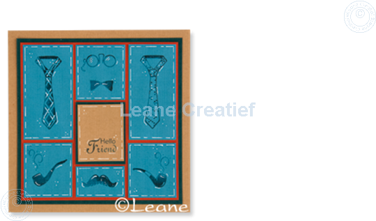 Picture of Combi stamp Men things