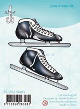 Bild von Clear stamp Skates