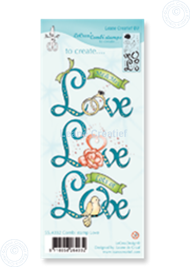 Picture of Combi stamp Love