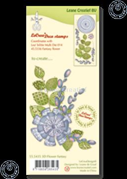 Image de Clear stamp 3D flower Fantasy