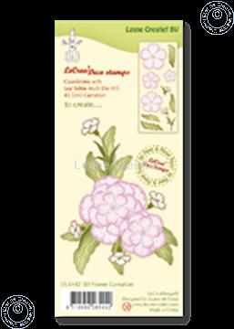 Bild von Clear stamp 3D flower Carnation