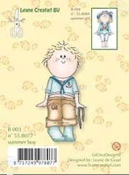 Image de Clearstamp Bambinie´s B003 Summer boy