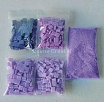 Afbeeldingen van LeCreaDesign® mozaïek steentjes I lila