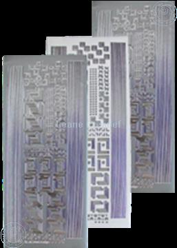 Image de LeCreaDesign® autocollants coins&lignes argent
