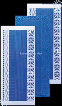 Image de Sticker de lignes diamond bleu