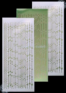 Image de Sticker de lignes mirror apple