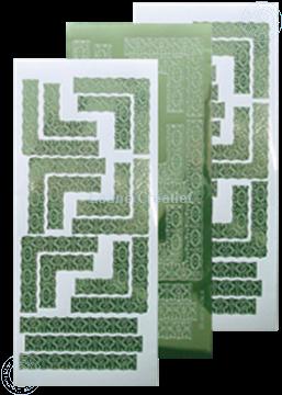 Picture of LeCreaDesign® Lace corner sticker mirror apple