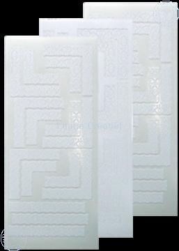 Picture of LeCreaDesign® Lace corner sticker white