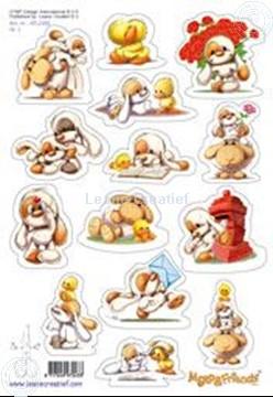 Afbeeldingen van LeCreaDesign® Mylo & Friends® Stickers A5 #1