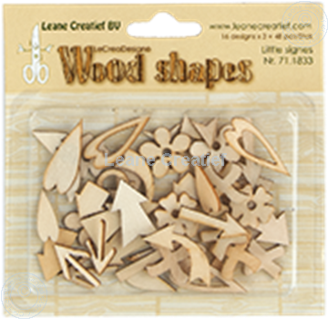 Bild von Woodshapes Little Signs