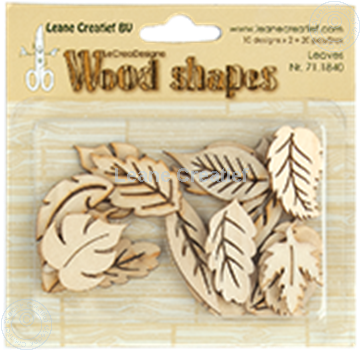 Picture of Woodshapes Leaves